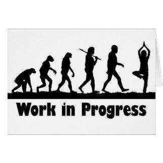 Work in Progress (Yoga) Card