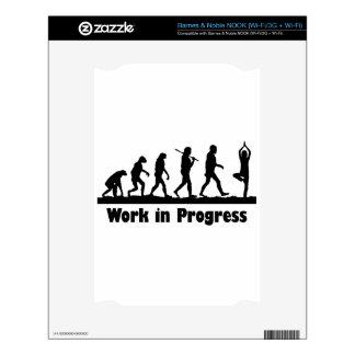 Work in Progress (Yoga) NOOK Skins