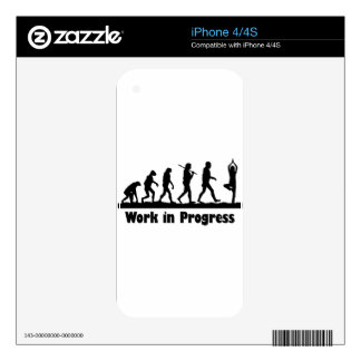 Work in Progress (Yoga) Skins For The iPhone 4S