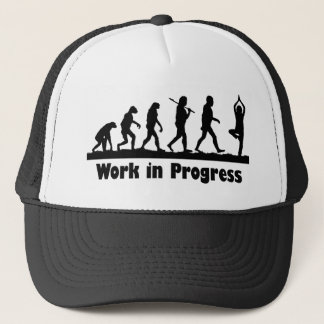 Work in Progress (Yoga) Trucker Hat