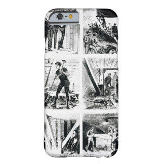 Work inside the caissons, constucting Brooklyn Bri Barely There iPhone 6 Case