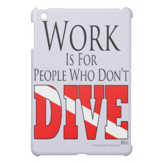 Work is for people iPad case