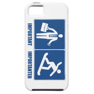 Work Is Important, Snowboarding Is Importanter iPhone SE/5/5s Case