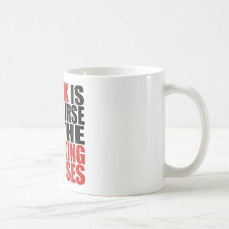 Work is the Curse of the Drinking Classes Coffee Mug