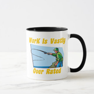 Work Is Vastly Over Rated Mug