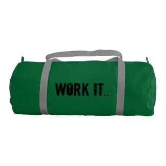 Work it Gym Bag