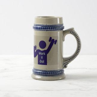 Work it out mug