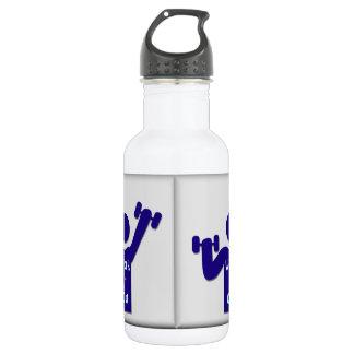 Work it Out 18oz Water Bottle