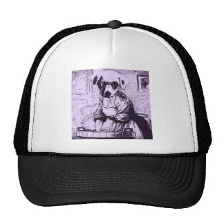 Work like a dog trucker hat
