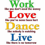 Work, Love Dance, Live Cut Out