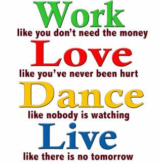 Work, Love Dance, Live Cutout