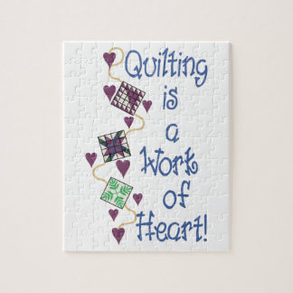 Work Of Heart Jigsaw Puzzle