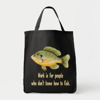 Work or Fish Tote Bag