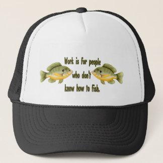 Work or Fish Trucker Hat