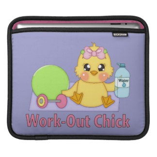 Work Out Chick iPad Sleeve
