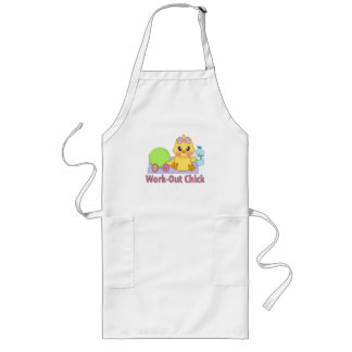 Work Out Chick Long Apron
