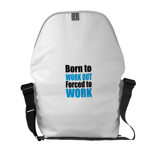 work out courier bag