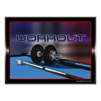 Work Out Posters