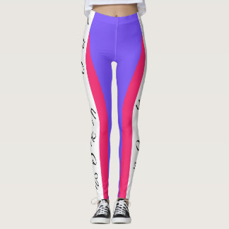 Work Out Tri Color Leggings by Julie Everhart