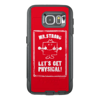 Work Out With Mr. Strong OtterBox Samsung Galaxy S6 Case
