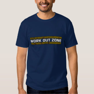 Work Out Zone Design 2 T Shirt
