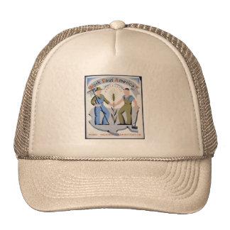 Work Pays America Trucker Hat