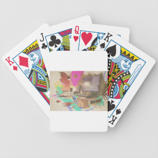 Work Bicycle Playing Cards