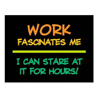 Work postcard