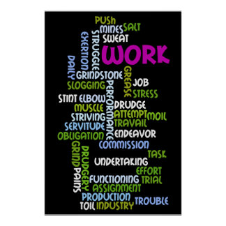 """""""Work"""" Poster"""