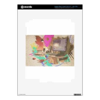 Work iPad 3 Decals