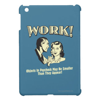 Work: Smaller Than They Appear iPad Mini Cover