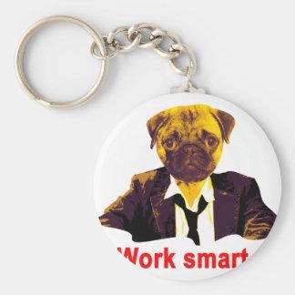 Work smart keychain