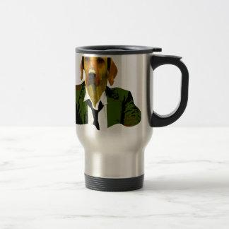 Work smart travel mug