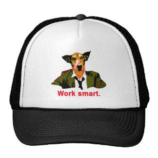 Work smart trucker hat