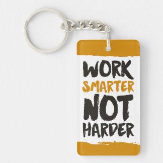 Work Smarter Not Harder Keychain