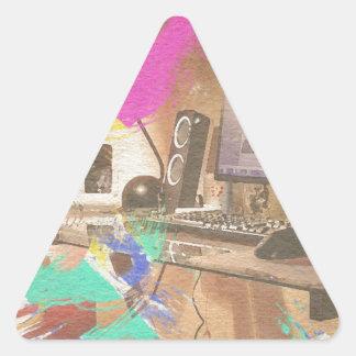 Work Triangle Sticker