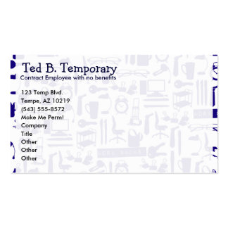 Work Sucks! Double-Sided Standard Business Cards (Pack Of 100)