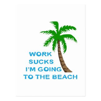 WORK SUCKS POSTCARD