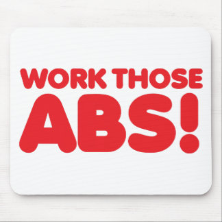 Work those ABS Mouse Pad