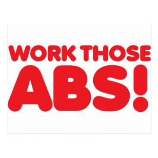 Work those ABS Postcard
