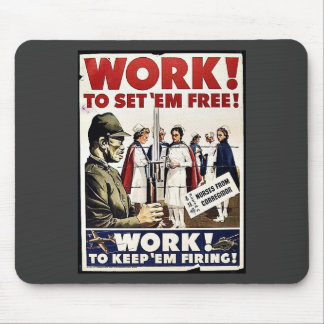 Work To Set 'Em Free Mouse Pad
