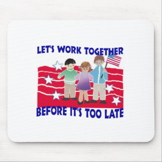 WORK TOGETHER MOUSE PADS