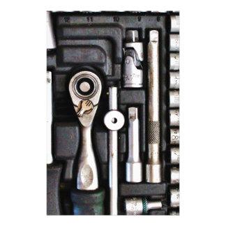Work Toolbox - Industrial Print Stationery