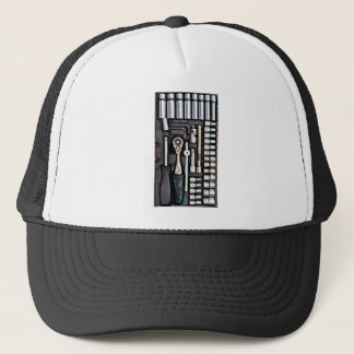 Work Toolbox - Industrial Print Trucker Hat