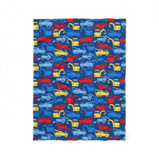 Work trucks fleece blanket