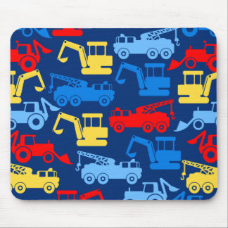 Work trucks mouse pad
