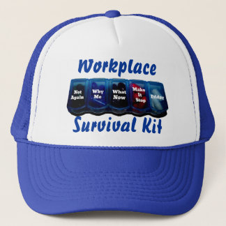 Work Week/Place Survival Kit Trucker Hat