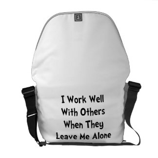Work Well Messenger Bag