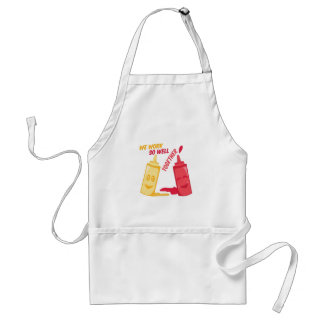 Work Well Together Adult Apron