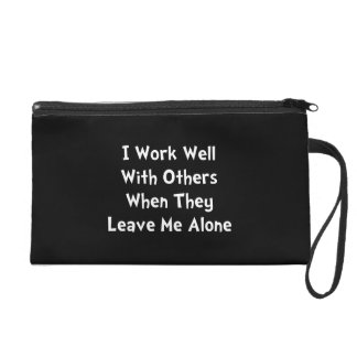 Work Well Wristlet Clutch